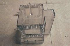 Acrylic injection molding