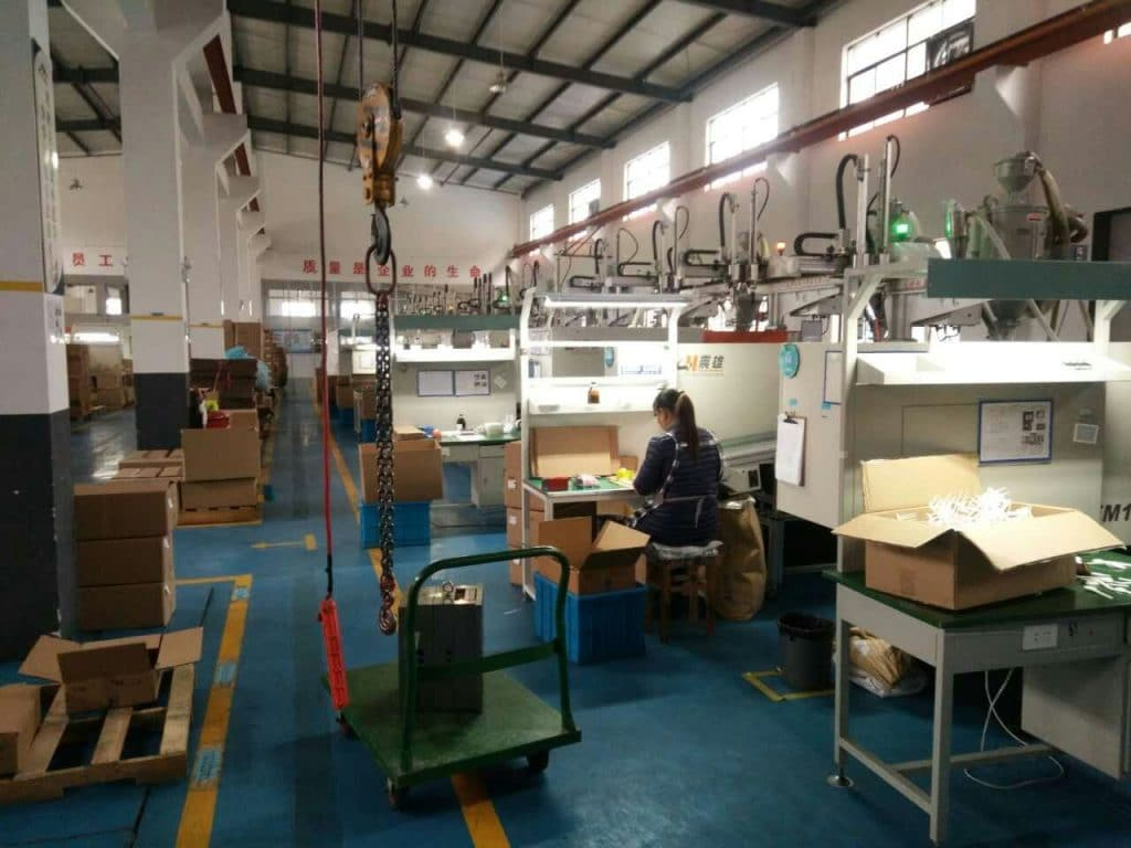 injection molding plant